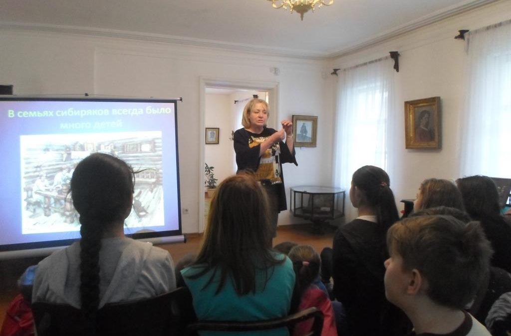 Посещение музея — усадьбы В.И. Сурикова