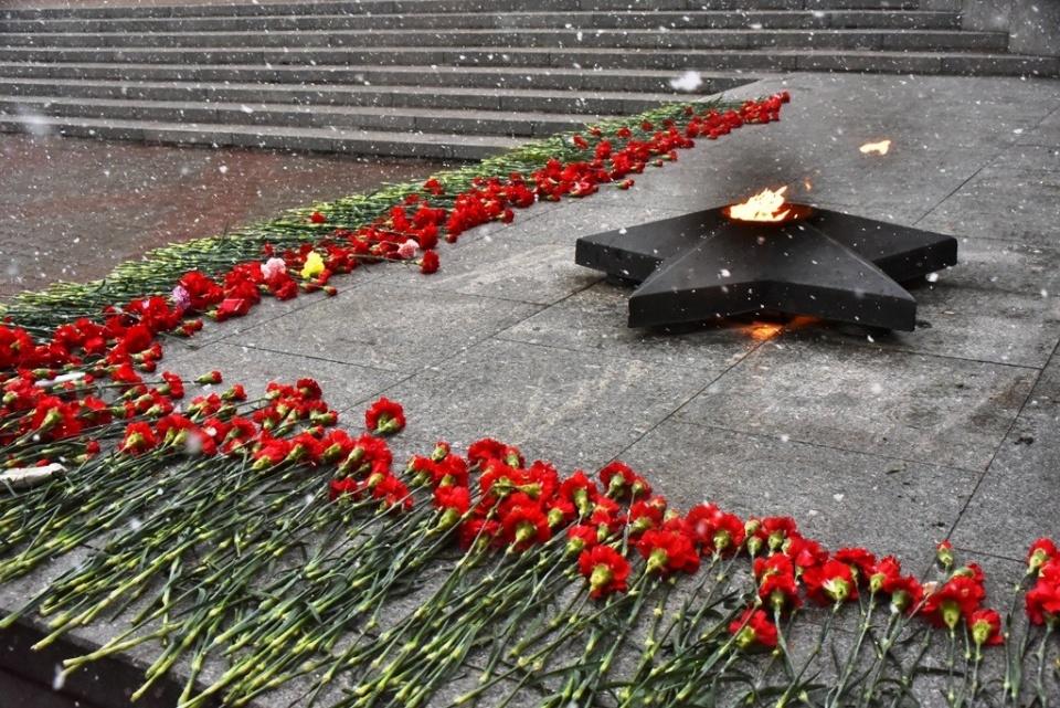 Митинг, посвященный 73-й годовщине Победы в Великой Отечественной войне