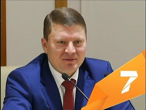 Новогоднее поздравление от мэра Красноярска
